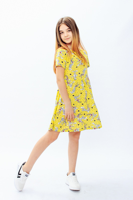 Платье для девочки (подростковое) 6258-002