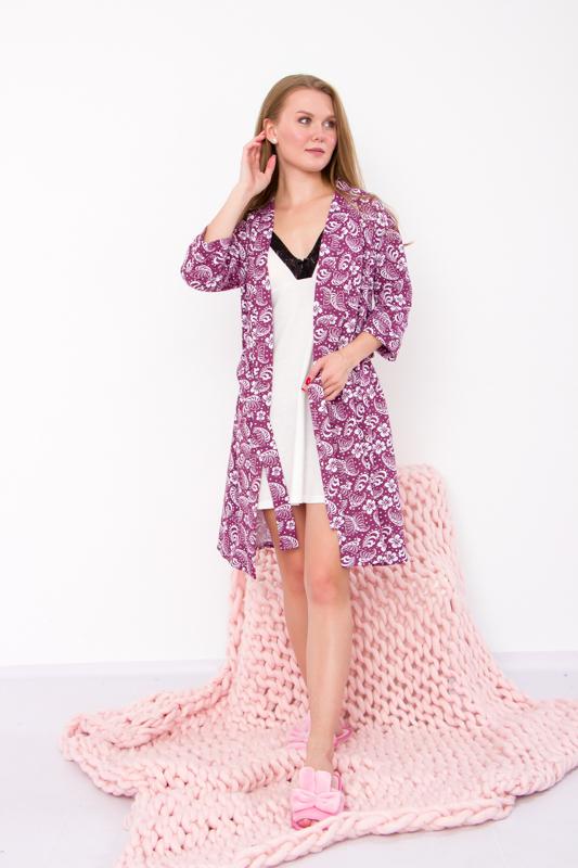 Халат+сорочка женская 8000-024