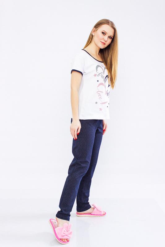 Пижама женская (брюки+футболка) 8070-002-33