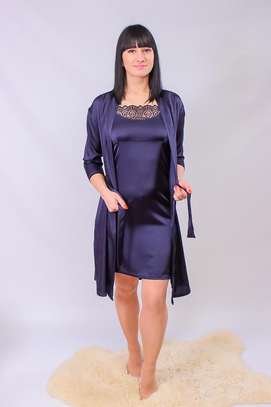 Комплект женский (халат+сорочка) 8115-089