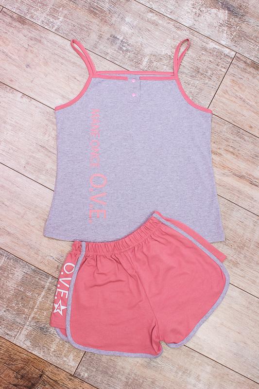 Комплект женский (топ+шорты) 8118-001-33