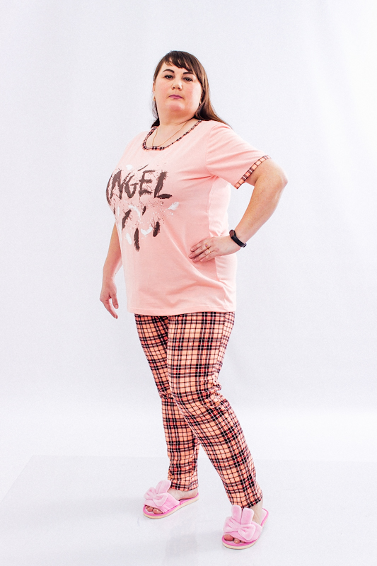 Комплект женский (футболка+брюки) 8120-002-33