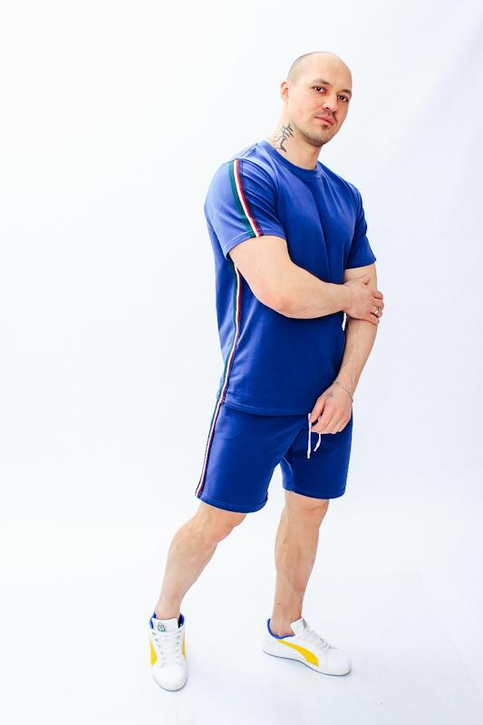 Комплект мужской (футболка+бриджи) 8193-057