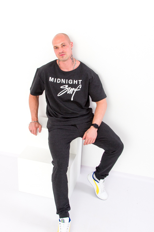 Комплект мужской (футболка+брюки) 8212-057-33-1