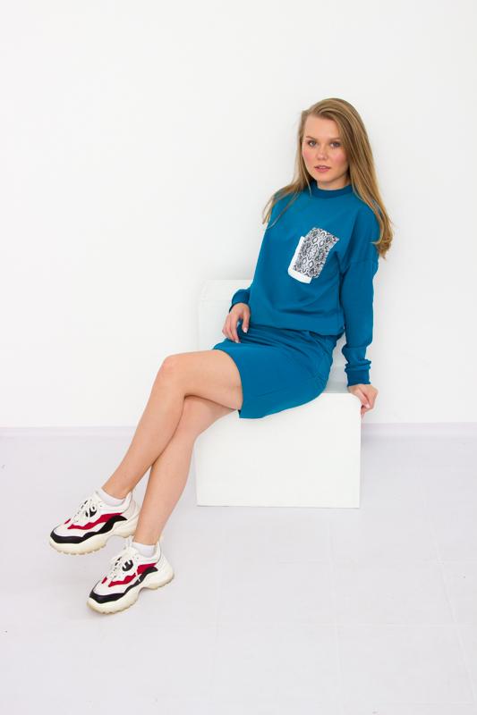 Костюм женский (джемпер+юбка) 8232-057-33