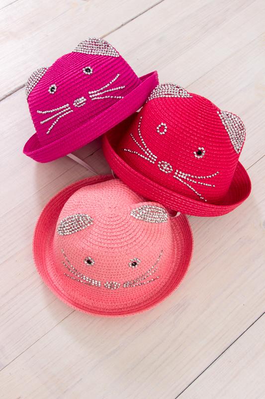 Шляпа детская с ушками