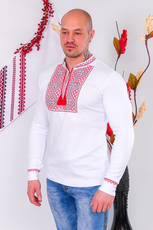 Вышиванка мужская с длинным рукавом 8605-038