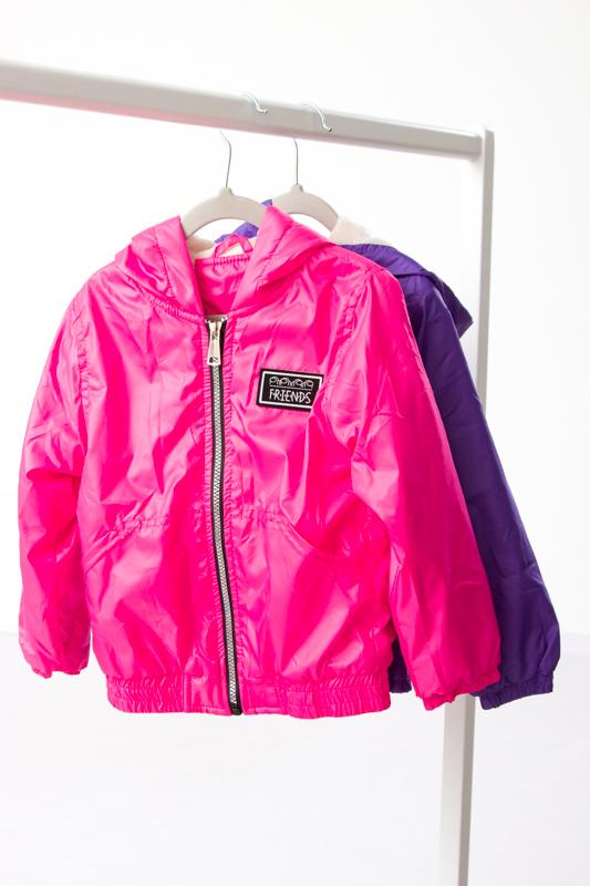 Куртка-ветровка для девочки 9333