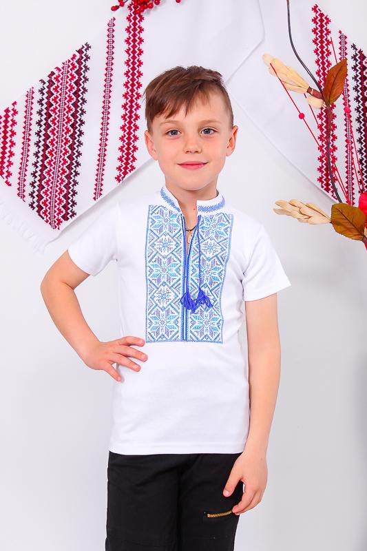 Вышиванка для мальчика с кор. рукавом 9942-038-22V