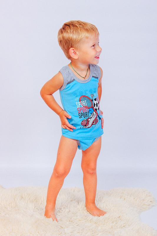 Комплект для мальчика (майка и трусы) 9976-008-33